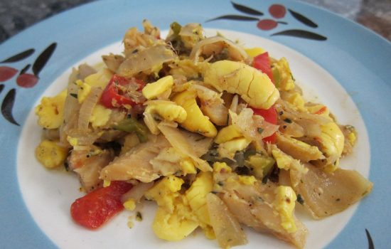 Nan's Ackee and Saltfish