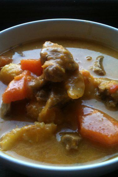Caribbean Mutton Soup