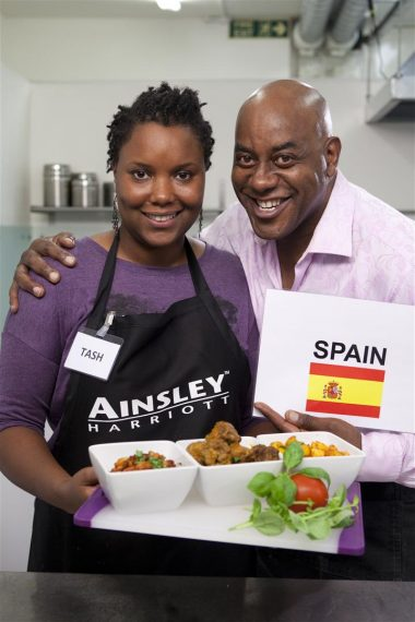 Ainlsey Harriot's Soup Search Challenge – Vote for Spain!