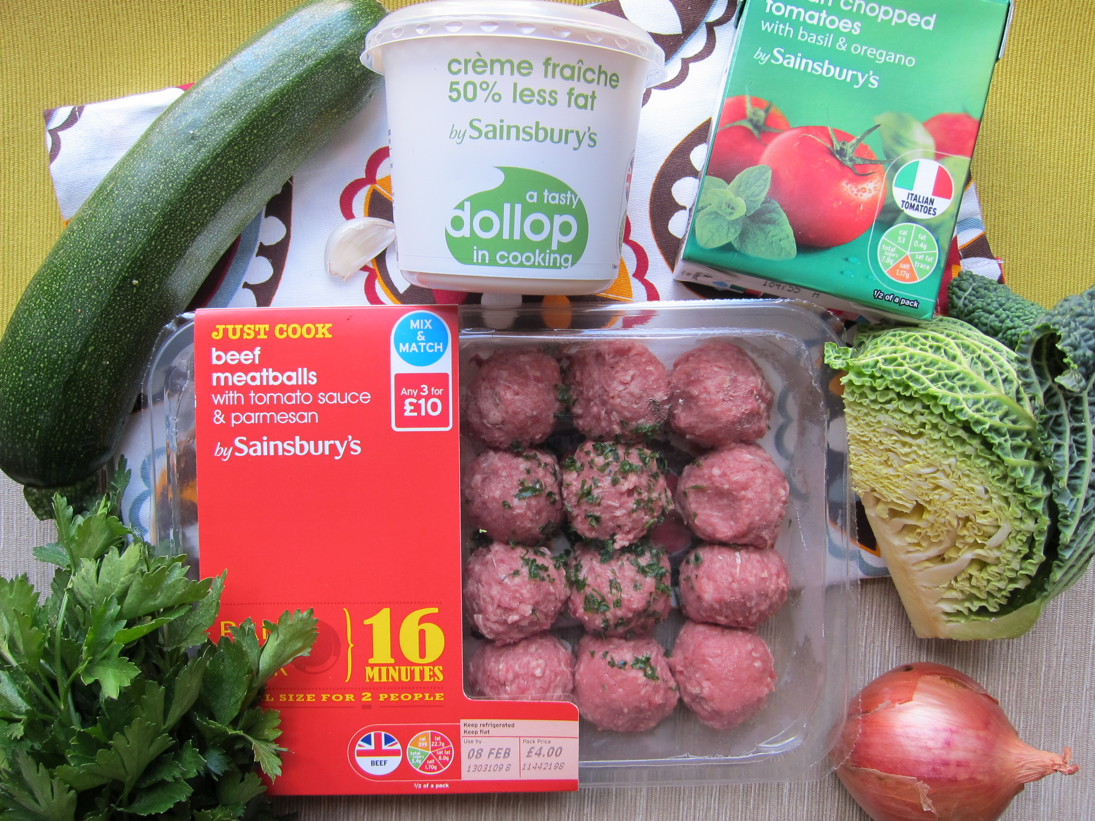 meatball recipe ingredients