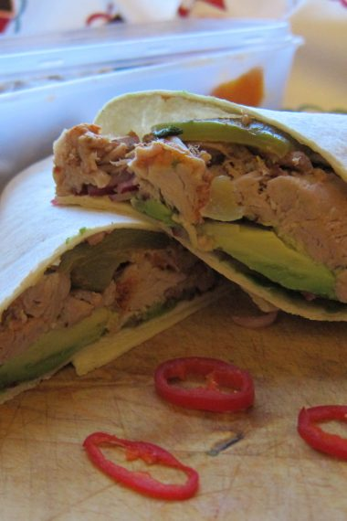 Pulled Pork Wrap – Leftover Lunches