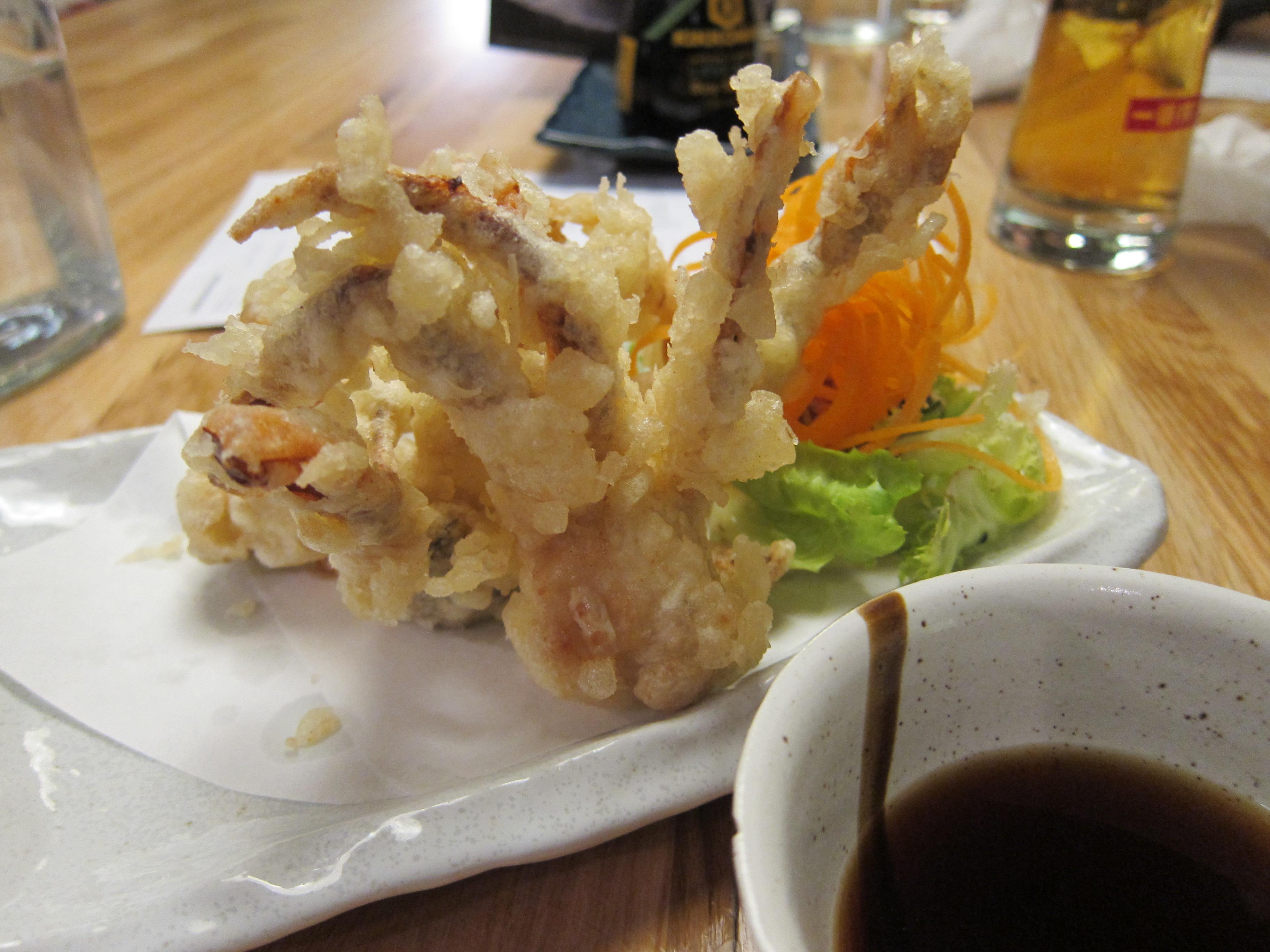 Shoryu soft shelled crab