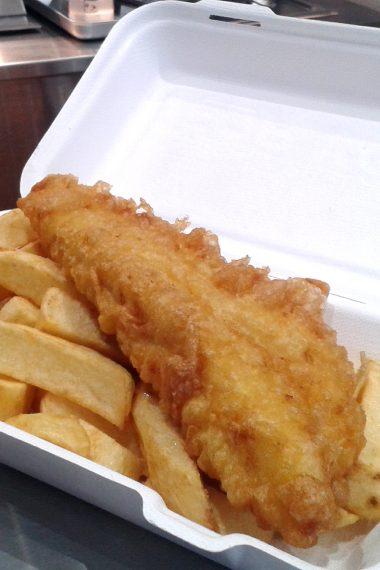 Brixton's Rock – Fish and Chip Shop