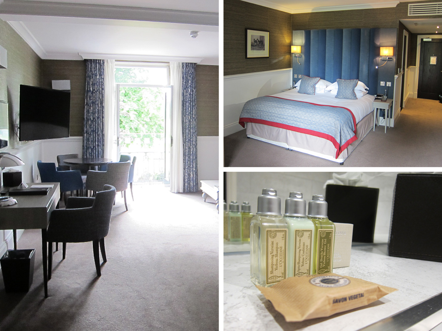 Harrogate - West Park Hotel Bedroom