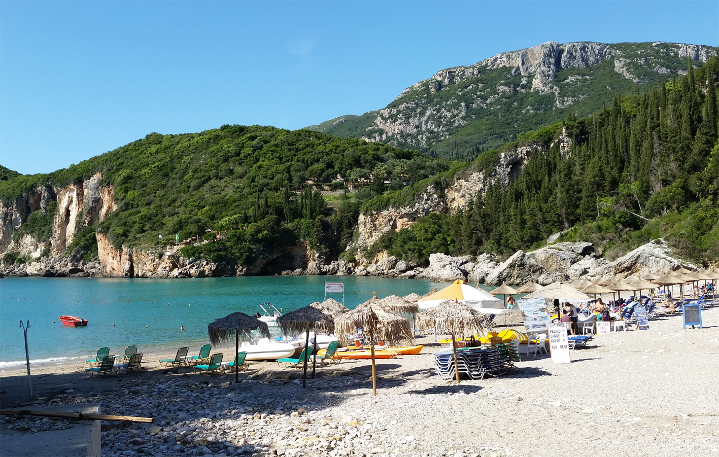 Blue Princess Beach Resort A Room With View In Corfu Greece Food
