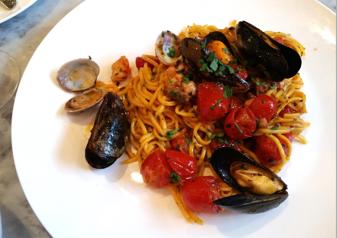 Theo's Simple Italian seafood