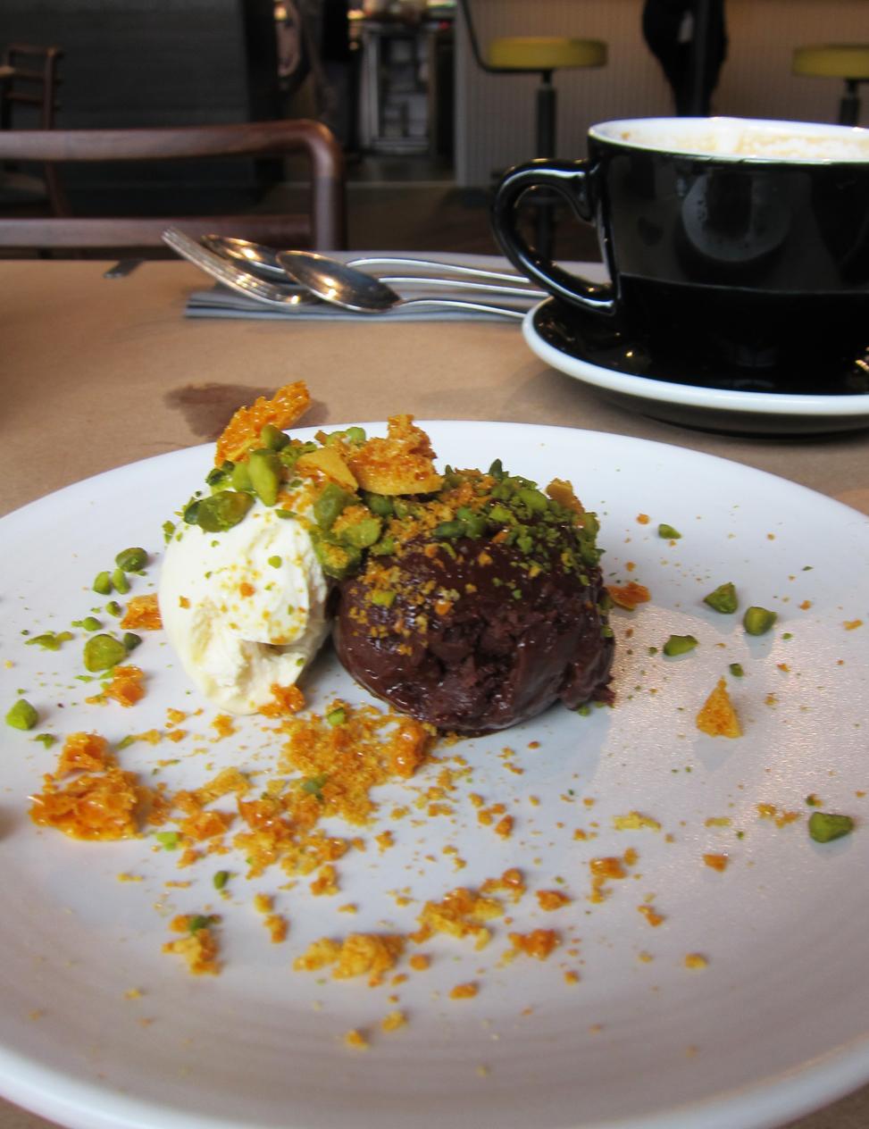 Palatino Chocolate Dessert