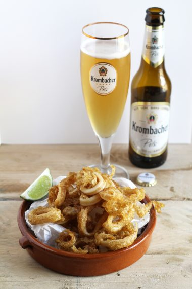 Krombacher-Battered Calamari