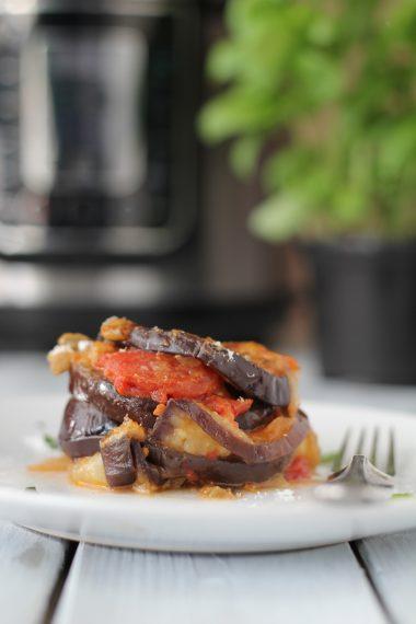 Pressure King Pro Recipe: Aubergine Parmigiana