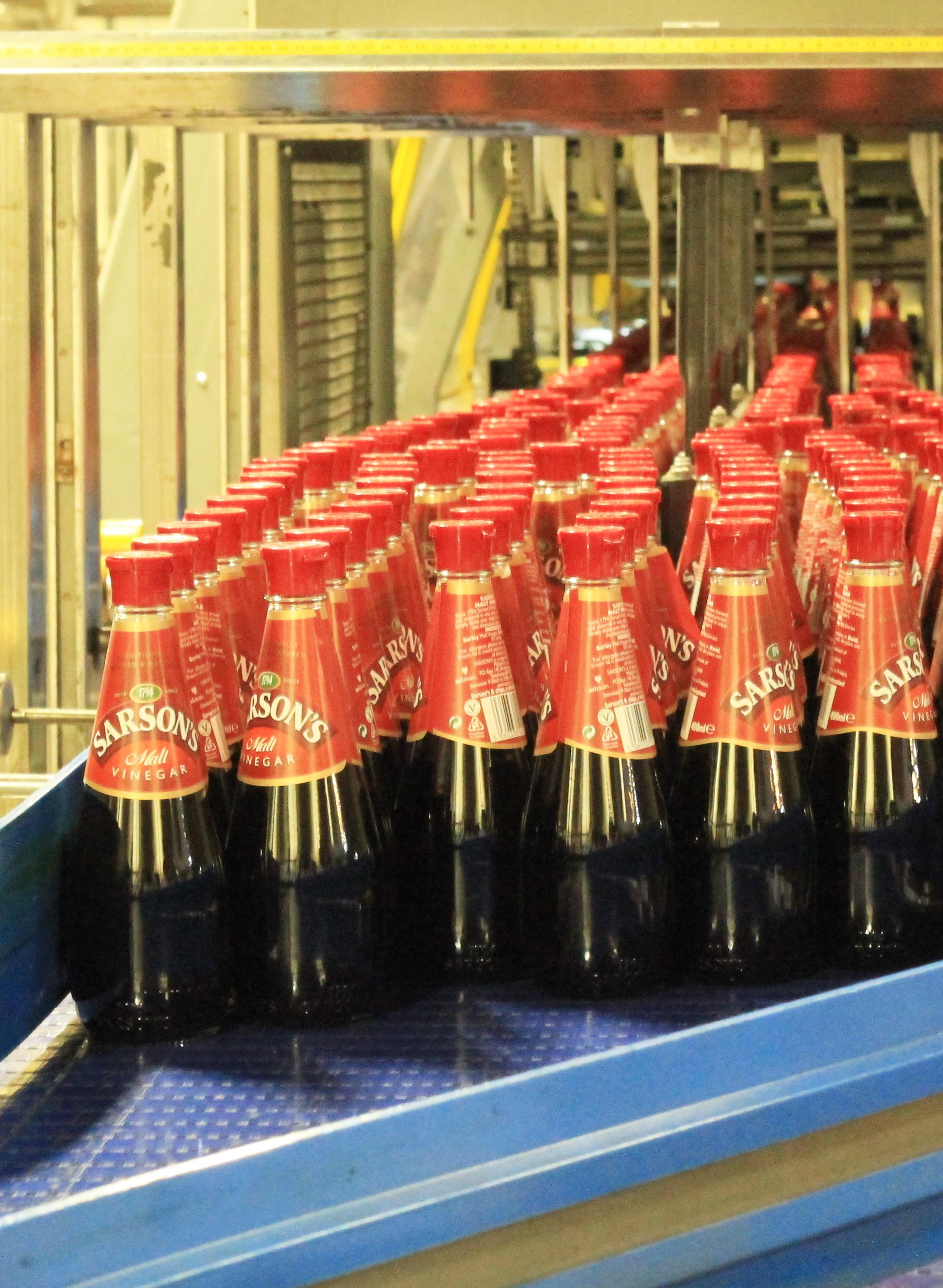 sarson's bottles