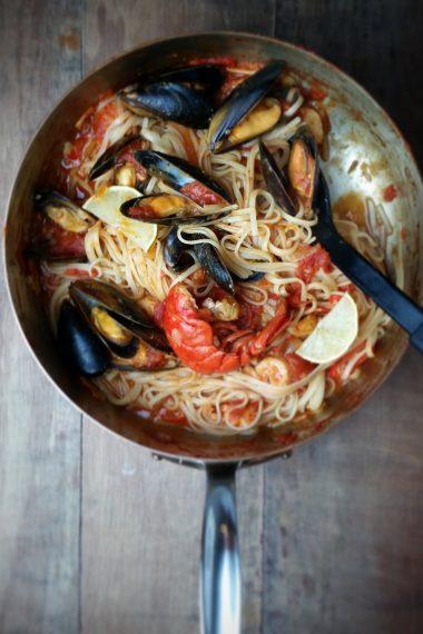 Recipe: Seafood Linguine
