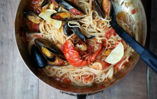 Recipe: Seafood Linguine