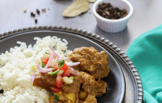 Caribbean-Style Chicken Curry