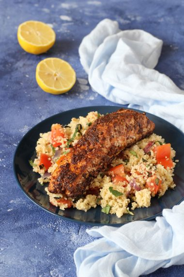 HelloFresh Moroccan Spiced Salmon