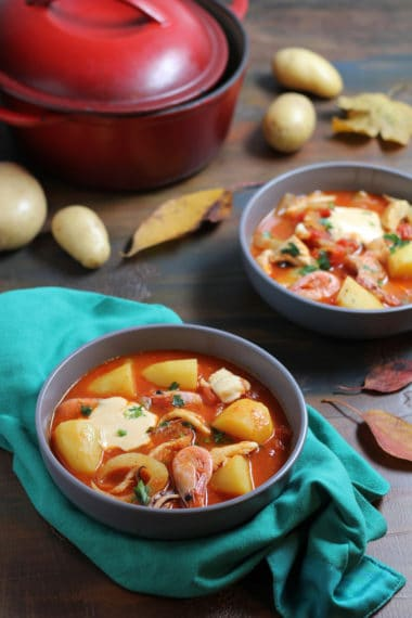 Fish Stew with Potatoes