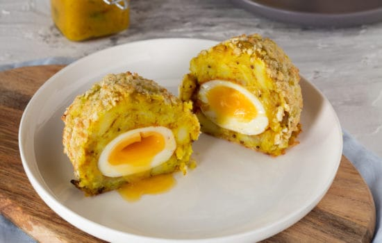 Spiced Potato Scotch Egg
